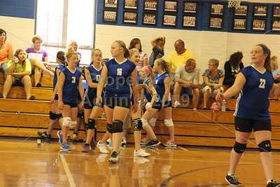 7th-8th vball v. dakota . 9.8.14