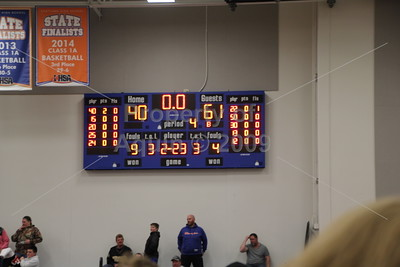 boys bball sectional semi-final v. williamsfield . 3.3.15