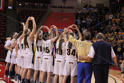 girls bball state final v. mt. pulaski . 2.23.13
